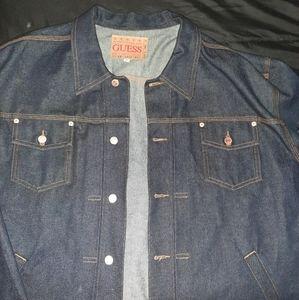 guess denim jacket 3 x